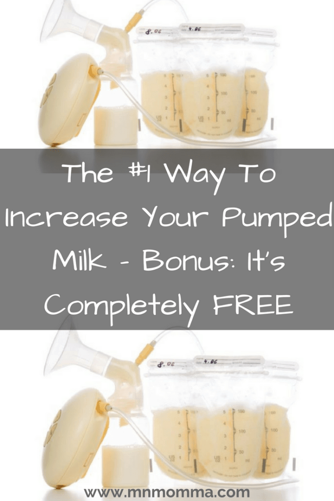 increase breast milk supply with manual expression