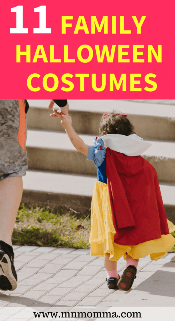 Looking for a group or family costume ideas? Don't miss these great family Halloween costume ideas!