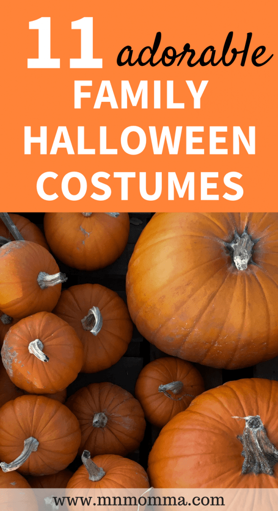 11 adorable family halloween costume ideas for your family this Halloween!