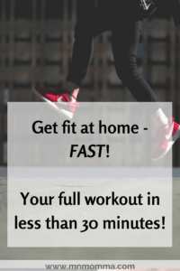 get fit at home fast