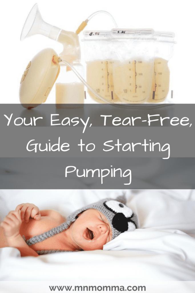 Starting Pumping: Tips to Start Pumping Breast Milk