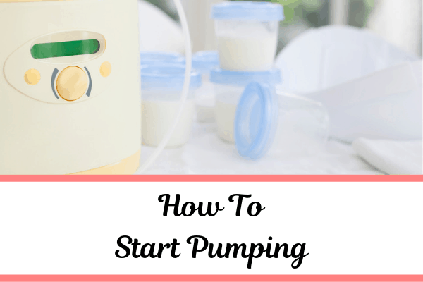 How to Start Pumping