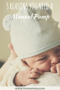 Manual Pump with baby