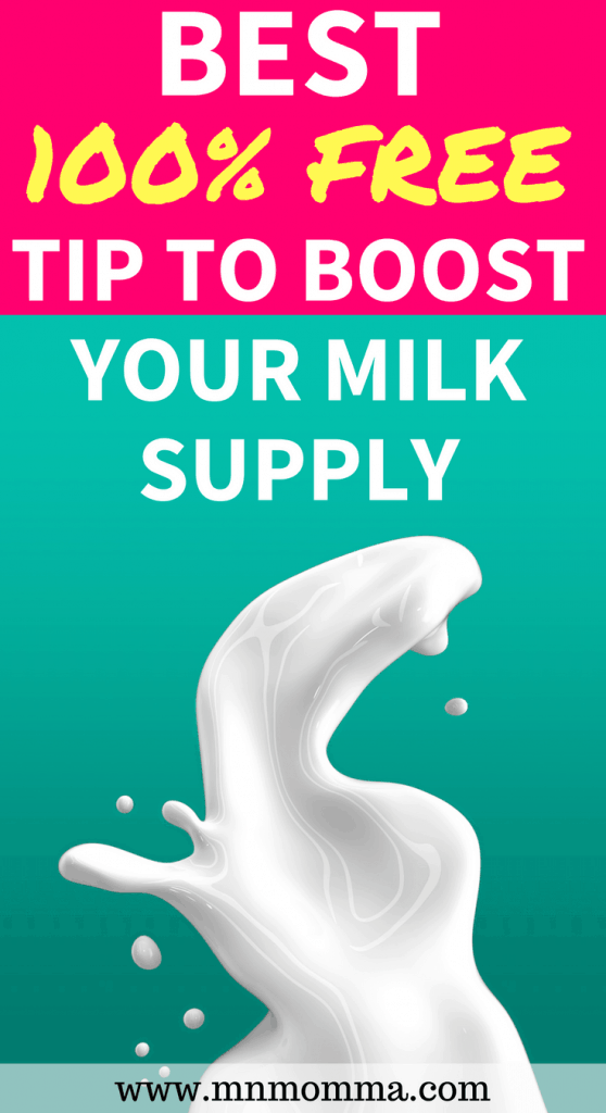 best free way to increase your milk supply overnight! Quickly increase your milk supply by manually expressing and pumping more milk!
