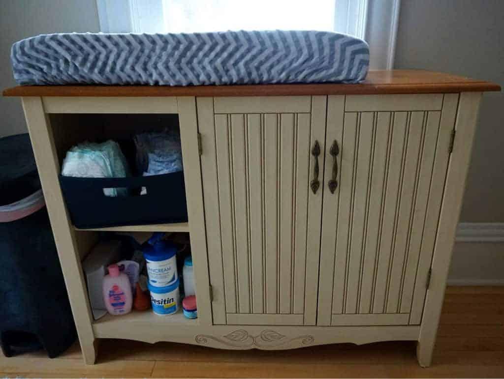 baby nursery dresser