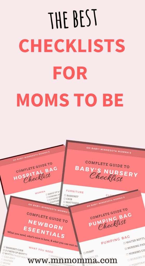Best checklists for moms