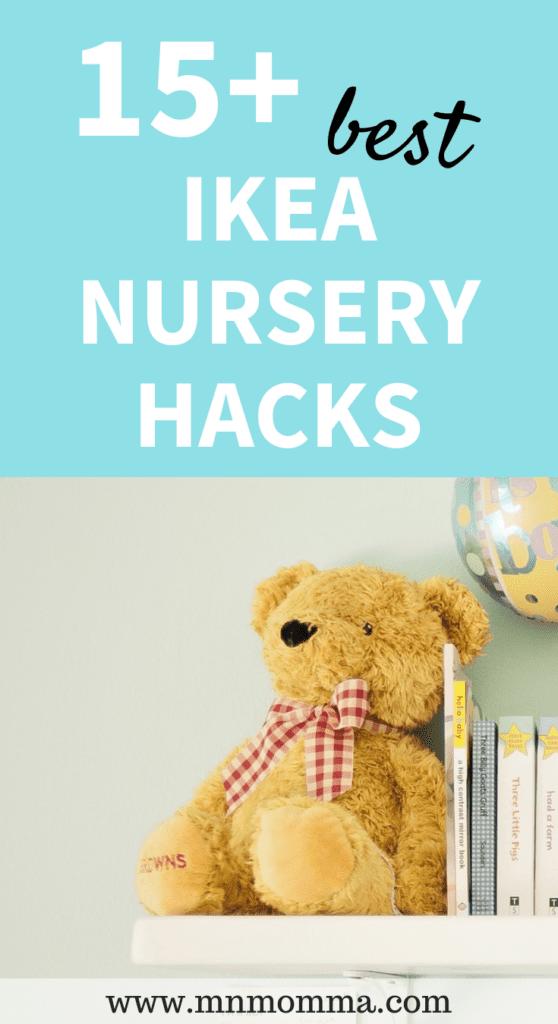 The Best IKEA Nursery Hacks! Great DIY Ideas for your baby's nursery!