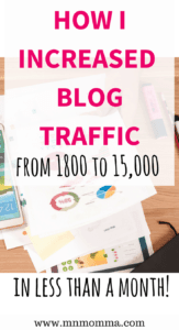 increase blog traffic fast