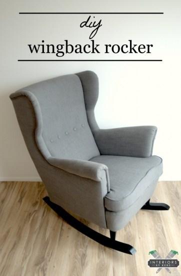 rocking chair IKEA Nursery Hacks