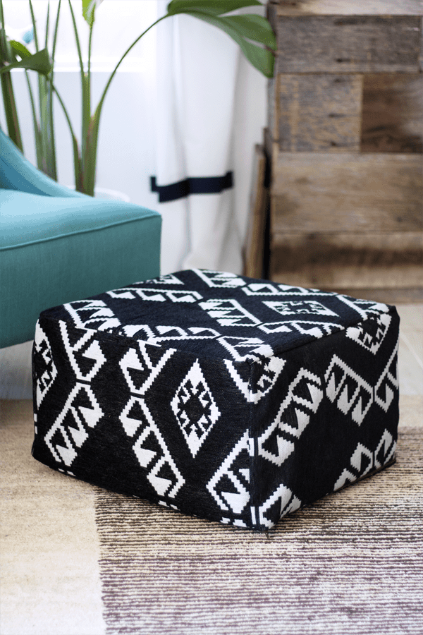 IKEA Nursery Hacks pouf