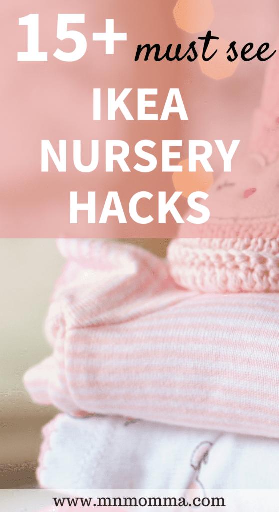 15+ Must See DIY Ikea Nursery Hacks