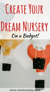 nursery budget