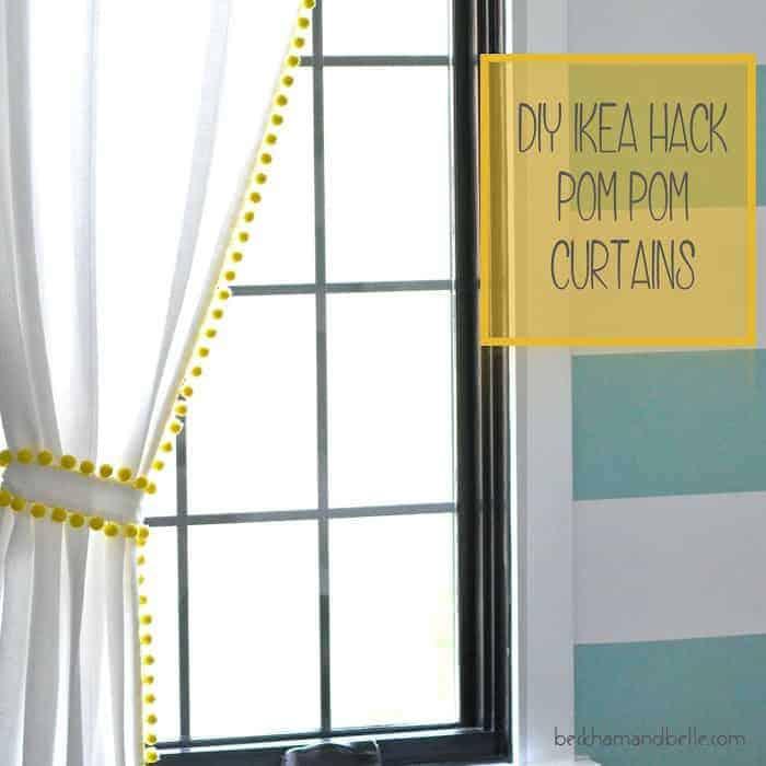 IKEA Nursery Hacks curtains