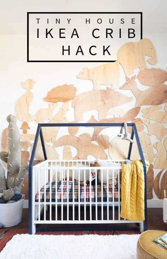 crib IKEA Nursery Hacks
