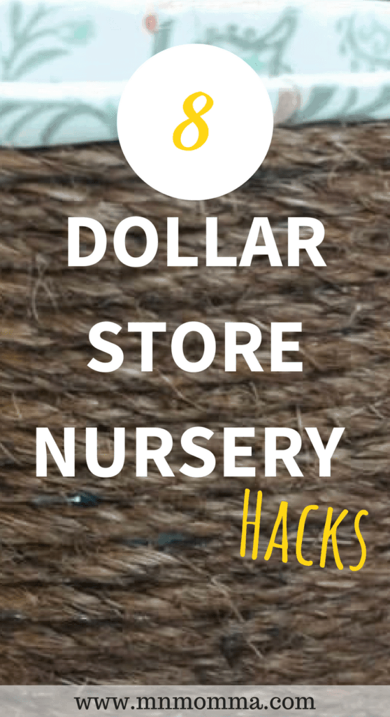 dollar store nursery hacks