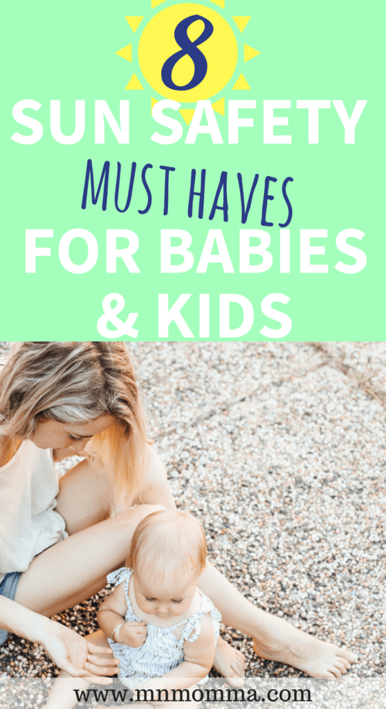 sun safety baby products must haves