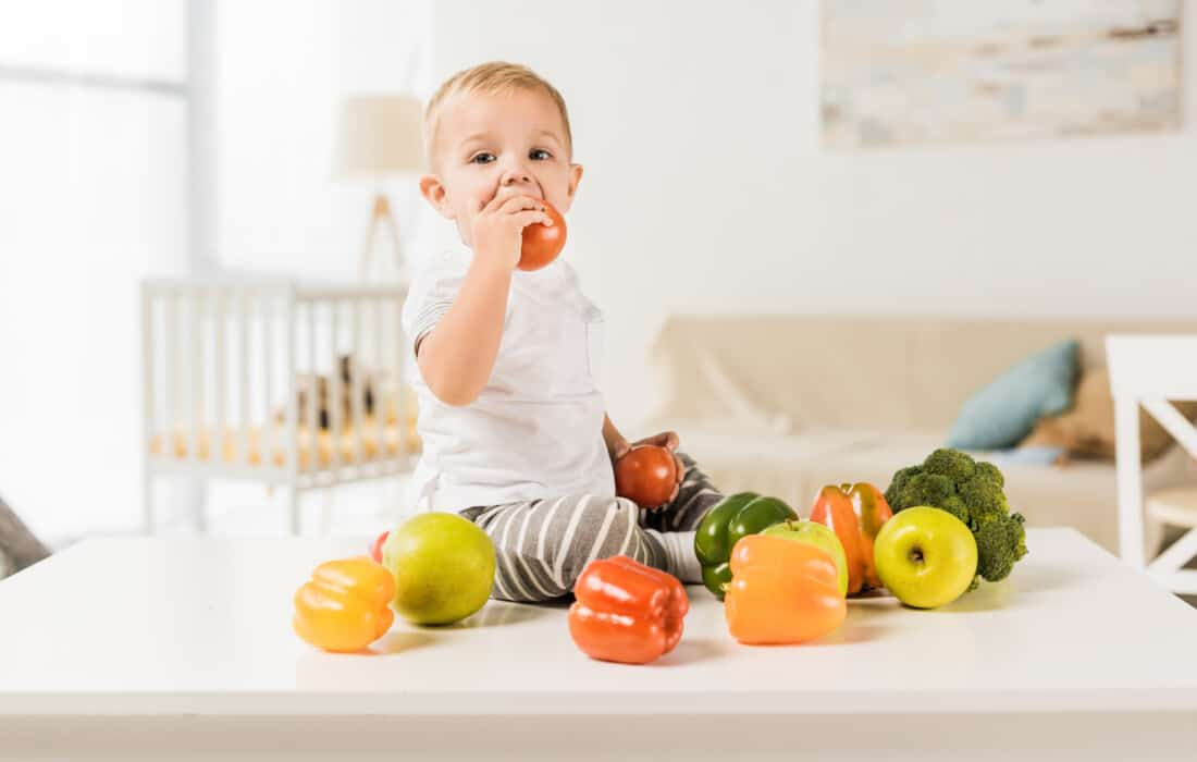 how I got my toddler to eat vegetables