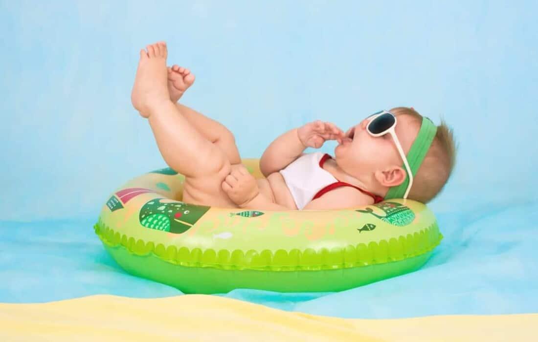 sun safety baby