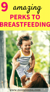 The 9 best benefits of breastfeeding! These breastfeeding benefits are great for both you and your baby!
