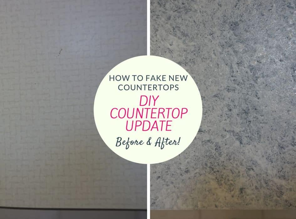 diy countertop update