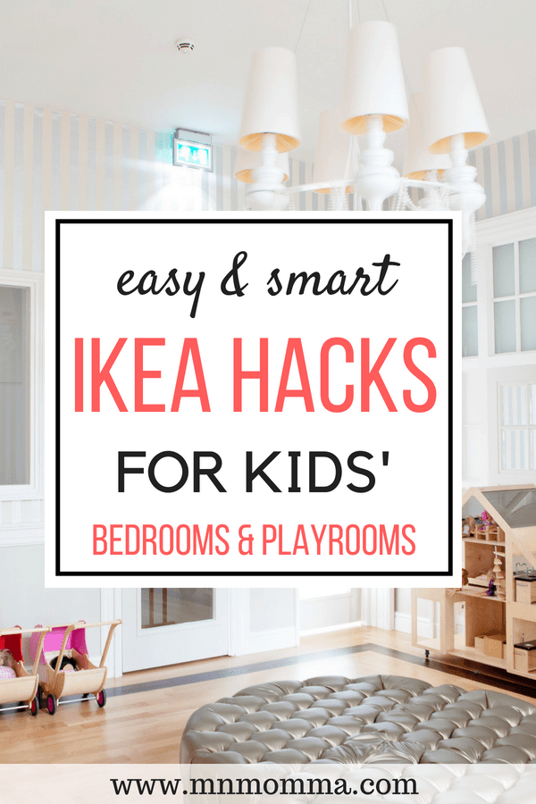 Brilliant and budget friendly IKEA hacks for kids rooms and playrooms! The best IKEA hacks for everything your kid needs!