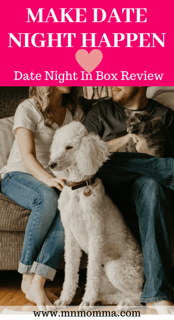 How to Make Date Night Happen - the Date Night In Box subscription review. Fun products and date night ideas for couples!