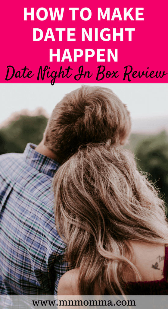 How to Have A Date Night With Kids: Date Night In Box review and ideas!