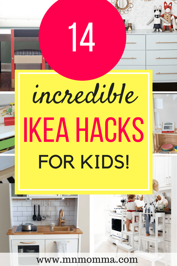 Incredible IKEA hacks for kids rooms! Don't miss these amazing DIY IKEA hacks to create a unique room on a budget!