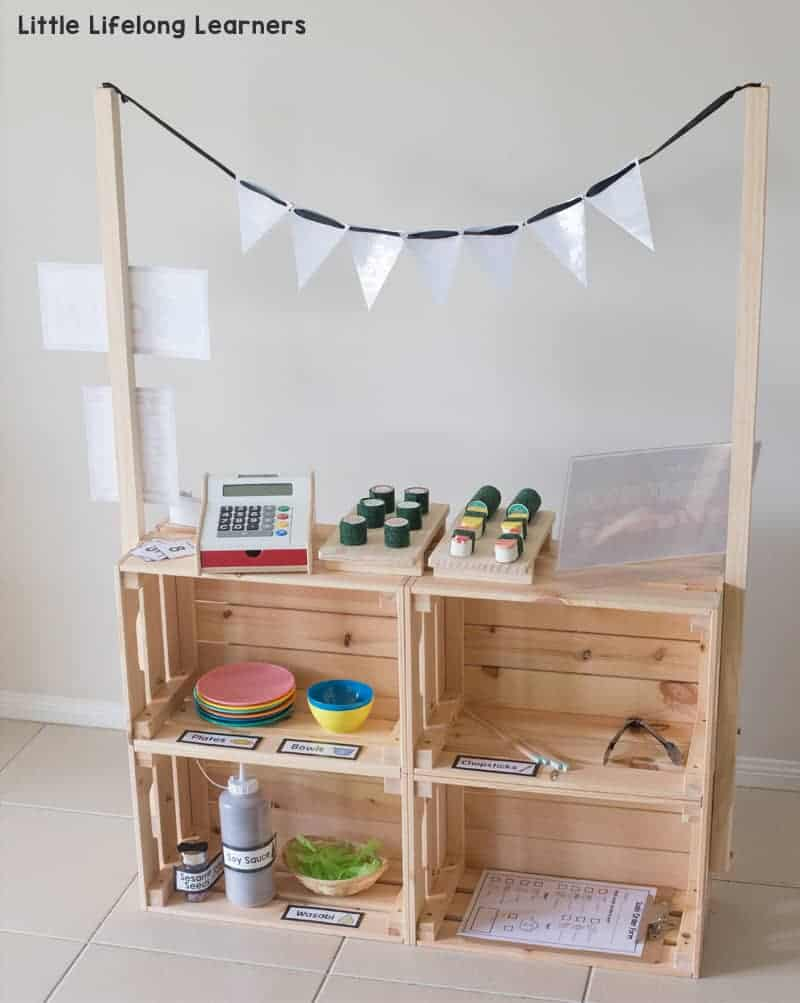 ikea hacks for kids DIY market stand