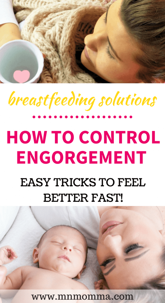what to do when you feel engorged from breastfeeding! Breastfeeding problems and easy solutions to fix them