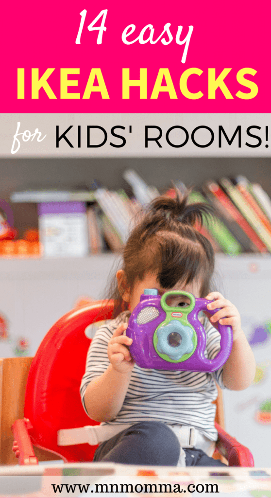 The best IKEA hacks for kids! Great DIY ideas for IKEA hacks for kids rooms and playrooms