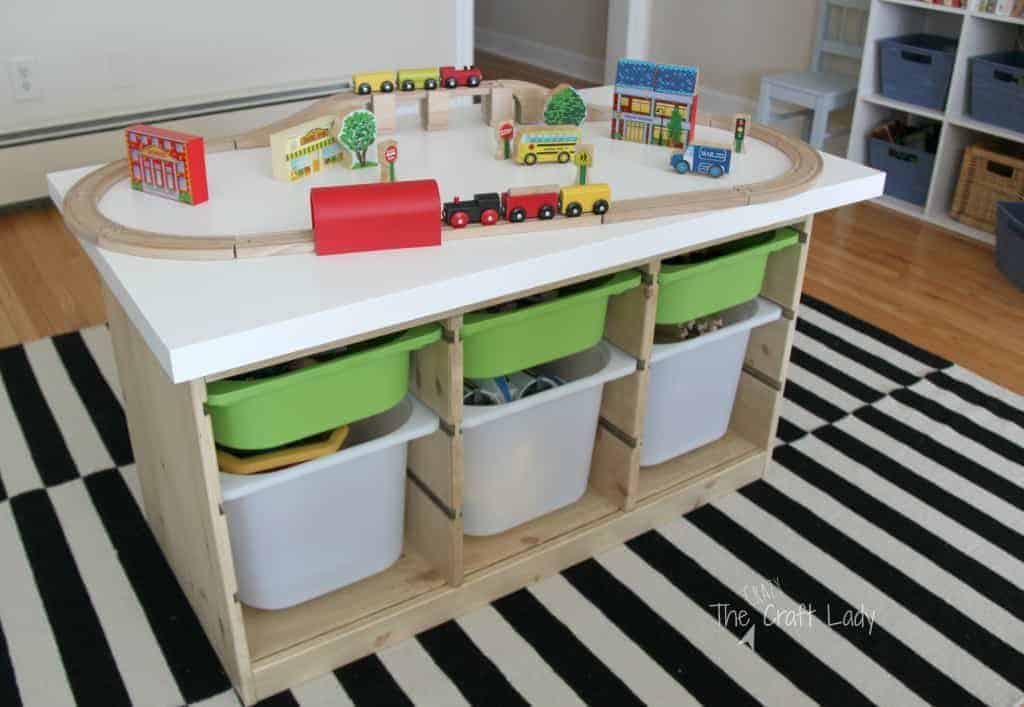Ikea hacks for kids - train table