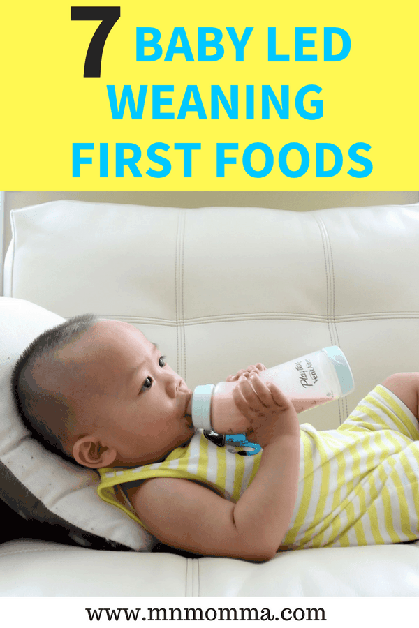 First Foods for Baby Led Weaning - Ideas and tips for parents starting baby led weaning