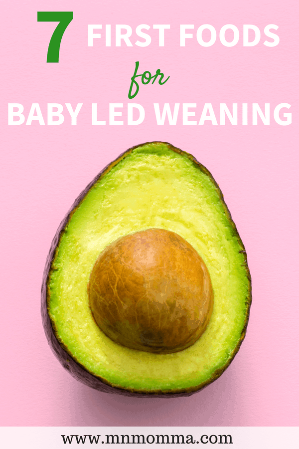 Baby Led Weaning Foods - Ideas for Starting Your Baby on Baby Led Weaning!