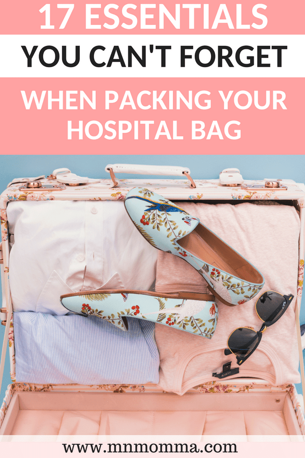 Hospital Bag Checklist! What you don't want to forget when packing your hospital bag for labor!