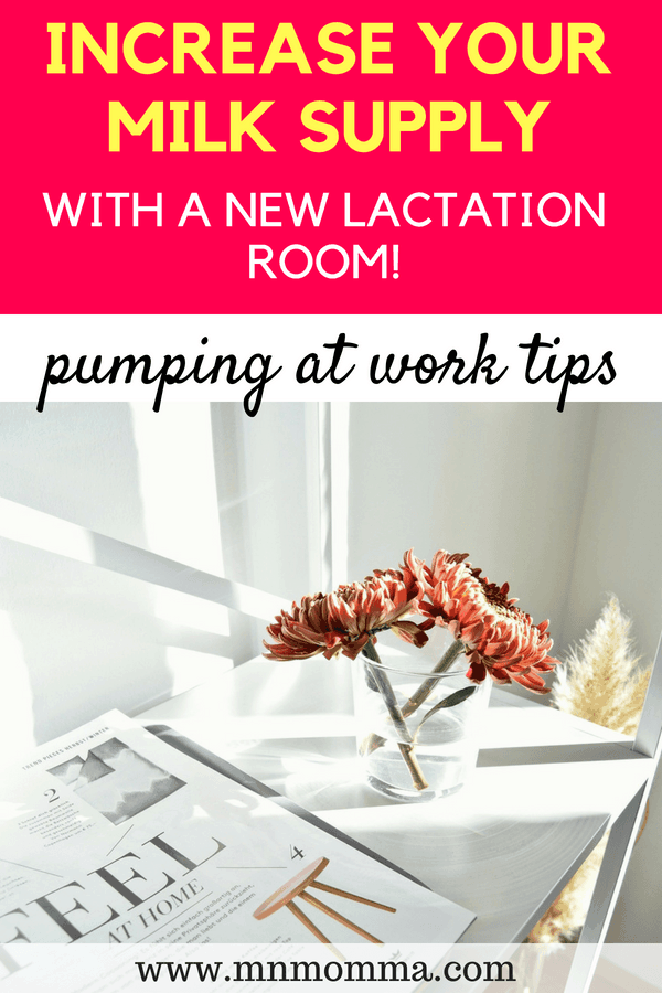 Pump More Milk With a Good Lactation Room! The importance of a lactation room at work