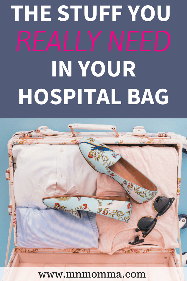 Hospital Bag Checklist - The Stuff You Really Need In Your Hospital Bag!