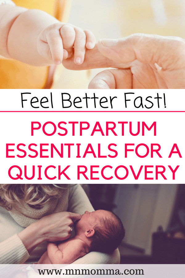 Postpartum Essentials for A Quick Recovery
