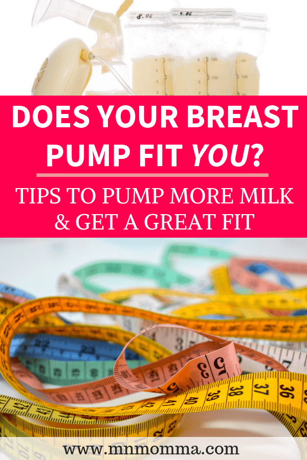 Breast Pump Fit Guide - How the Right Size Breast Pump Can Help You Pump More Milk