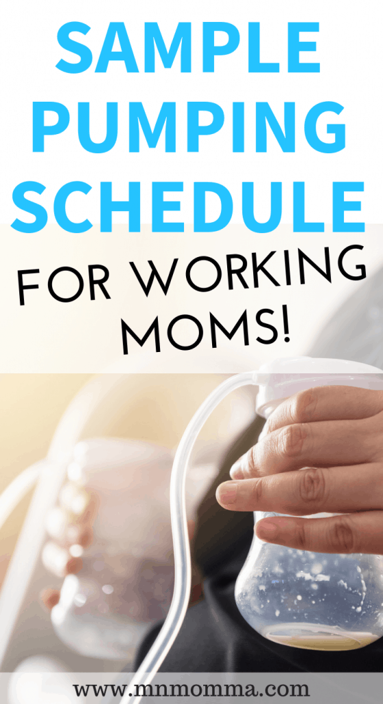Sample Pumping Schedule - For All Pumping Moms - Minnesota Momma