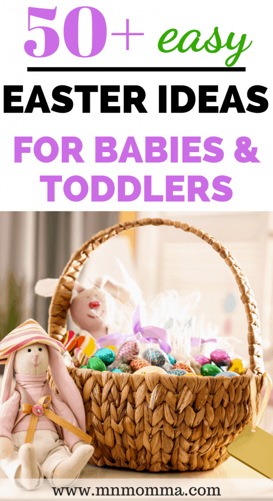 The best Easter basket ideas for babies and toddlers!