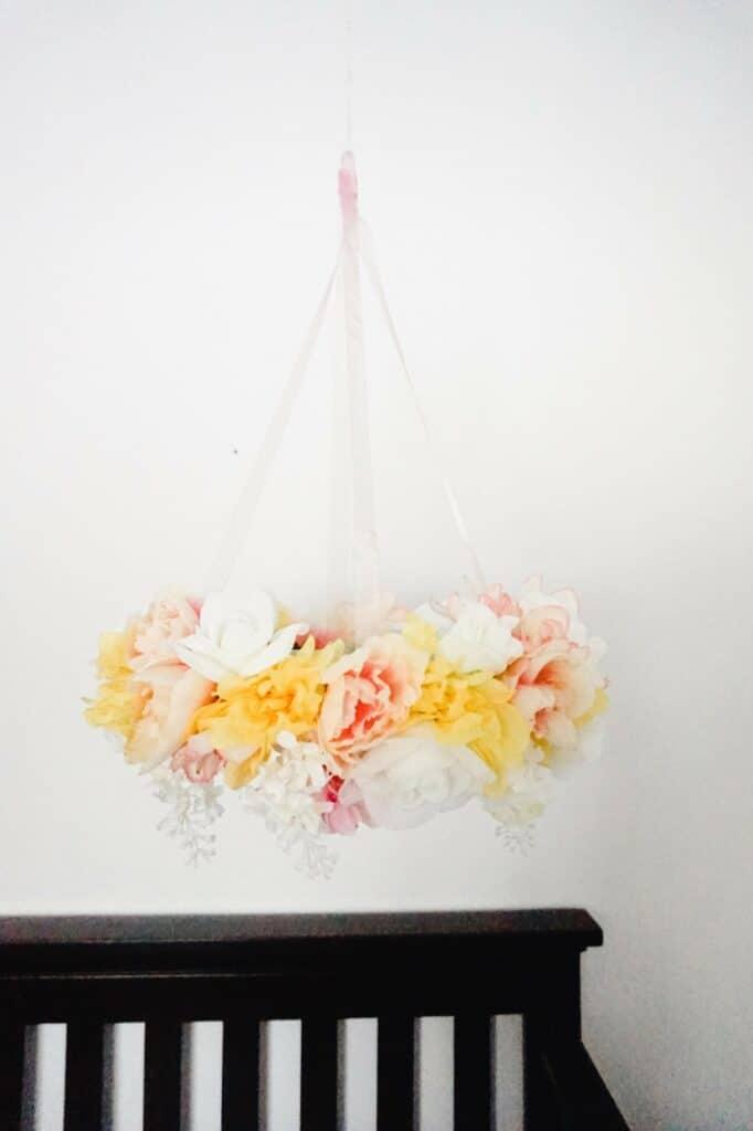 DIY Floral Mobile Tutorial