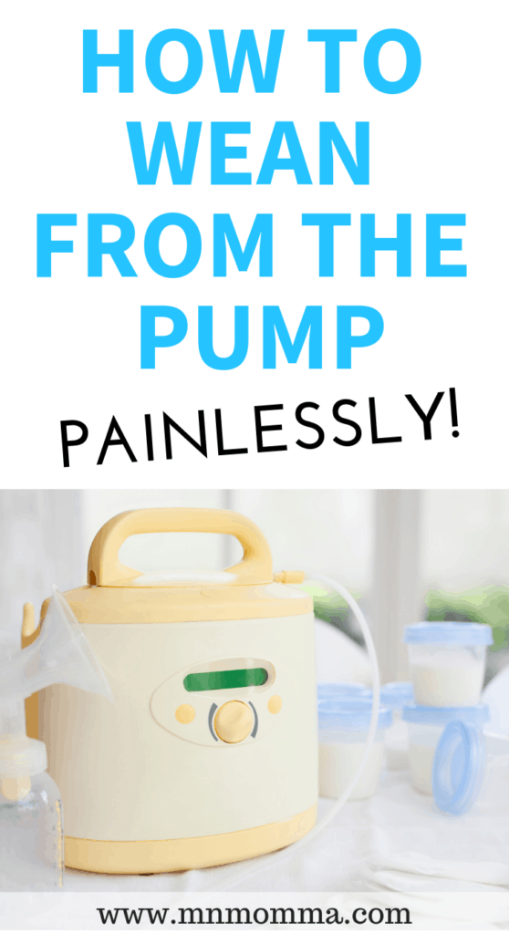 How to Wean From the Pump Painlessly