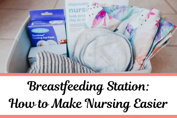 How to Make a Breastfeeding Station