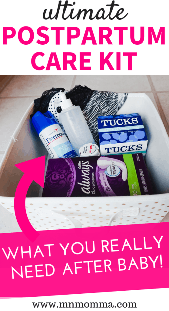 DIY Postpartum Care Kit