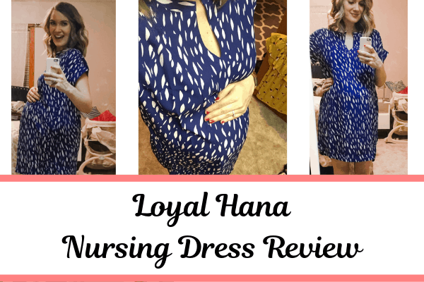 Loyal Hana Review - nursing dress