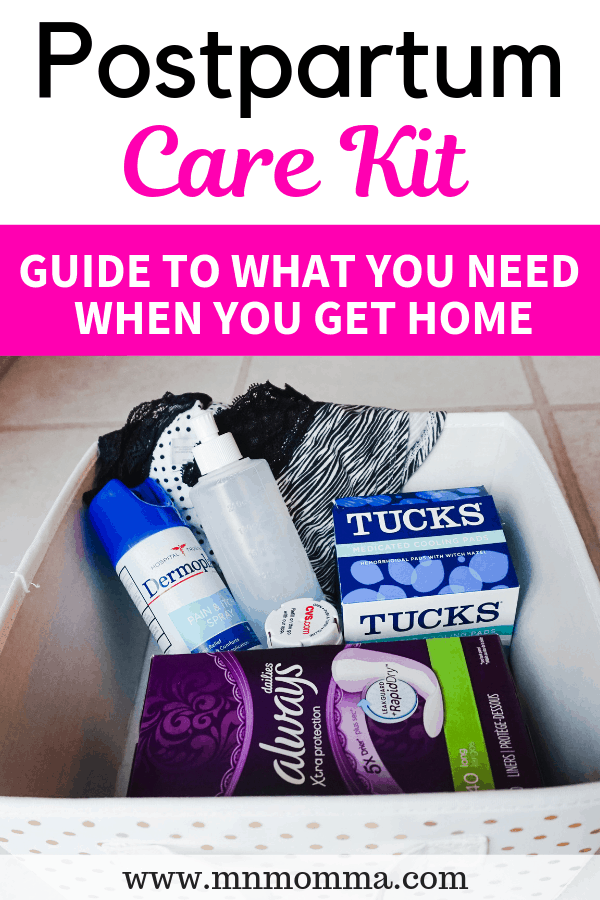 Postpartum Care Kit Ideas