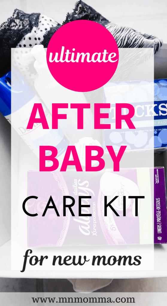 Postpartum Care Kit for New Moms