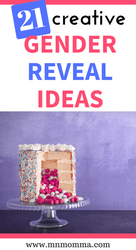 creative gender reveal ideas