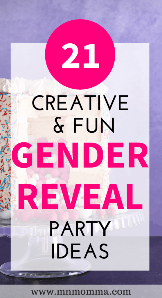 gender reveal announcement ideas for expecting parents